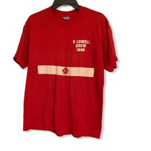 Vintage 80s red shirt